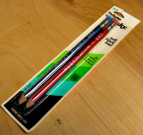 I've always loved pencils, and perhaps my love for 9mm lead started with these Huskies I used as a child.