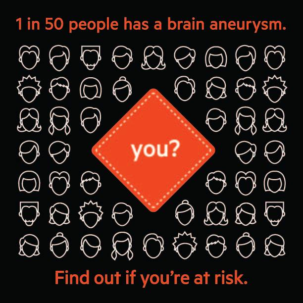 September is National Brain Aneurysm Awareness Month. Do you know the symptoms? I didn't and even though I was awake when I had mine, I went on to bed only to have my sister find me unconscious the following morning.